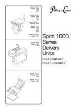 Spirit 1000 Series Delivery Units Installation Manual