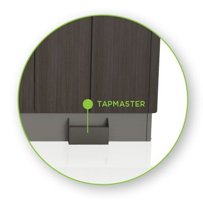 pelton cabinets caseworks features tapmaster key features