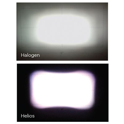 pelton helio 1800 feature precise lighting