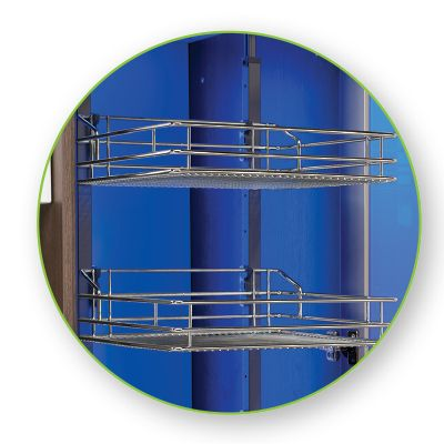 solaris 2 features adjustable wire baskets